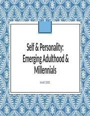 Article 2 Self Personality Emerging Adulthood.pptx