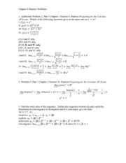 Chapter 8 Practice Problems with Solutions