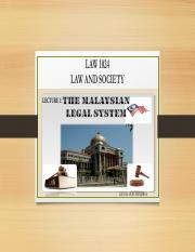 2. Malaysian Legal System.pdf
