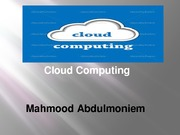 (ITN 100) Lab 10 Powerpoint Cloud Computing