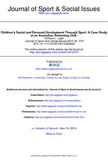 Journal of Sport and Social Issues-2010-Light-379-95
