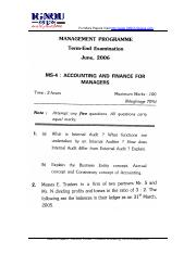 Finance and management (4)