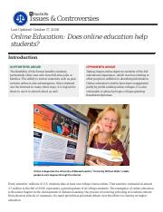 does online education help students.pdf