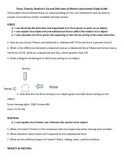 Copy of Force Gravity and Newton Unit Test Study Guide PURPLE.pdf
