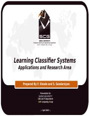 Learning Classifer Systems.pptx