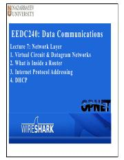 EEDC240-Lecture7 Network Layer Part1.pdf