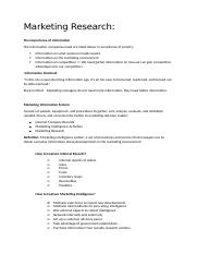 Week3 - Conducting Market Research and forecasting demand.docx