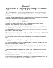 Chapter 9 - Applications of Cryptography
