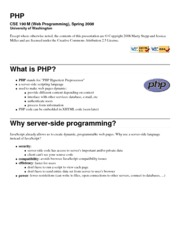 lecture17-php