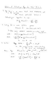 L14(Wavefunction for a free particle)