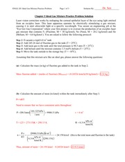 ENGG 201 - Chapter 5 Ideal Gas Mixture Practice Problem Solution