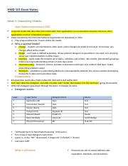 HWD 101 Exam Notes.docx