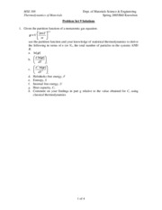 MSE 308 Problem Set 9 Solutions