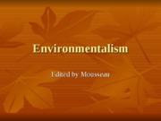 A-Environmentalism-save and read