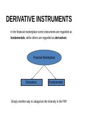 T6 Security  Analysis- Derivatives