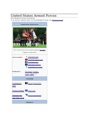 United States Armed Forces.docx