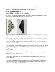 10 Peppered Moth Preview