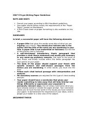 COLT 374gm Writing Paper Guidelines-2.doc