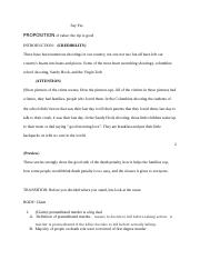 Say yes outline.docx