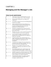Managing and the Manager's Job.docx