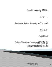 Financial Account (财务会计学)_Lecture #1.pdf