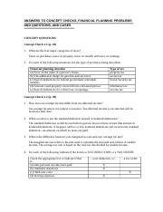 Chapter 3 - ANSWERS TO CONCEPT CHECKS (1)