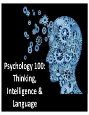 Psych 100-Lecture 12-Cognition-Post.pdf