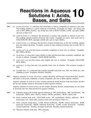 Neutralization Reactions Worksheet Key 1 Date Neutralization