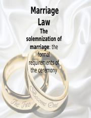 Marriage Law.ppt