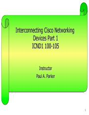 Cisco Networking Essentials Pdf