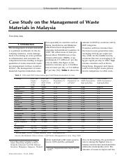 Case Study on the Management of Waste Materials in Malaysia.pdf
