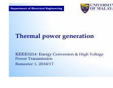 Slide KEEE3254 2016 W2 Thermal power generation and Fuel cell
