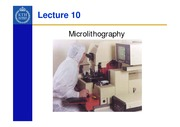Lecture_10-Microlithography