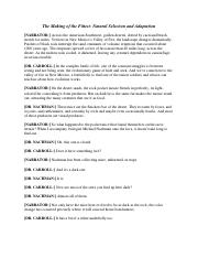The Making of the Fittest - Natural Selection and Adaptation (Pocket Mouse) Printable Transcript (1)