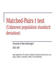 Lecture 12 - Matched-Pairs t test.ppt