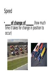 Chapter 2 Motion in One Dimension Students Slide Group B - Taylor Stribling