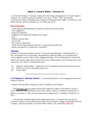 Week 3 - Lecture Notes - Putnam (1).doc
