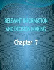8. Relevant information and decision making new.pptx