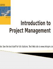 Week 1 - Intro to Project Management # 1.pptx