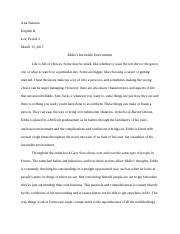 Buried Onions Essay_ Eddie Choises Vs Env..docx