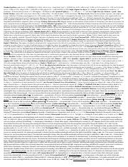 Final Exam Cheat Sheet