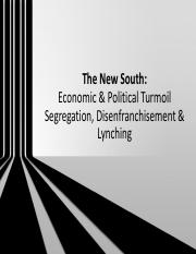 2016 The New South