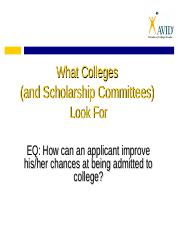 what_colleges_look_for..ppt