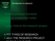 primary secondary research 101