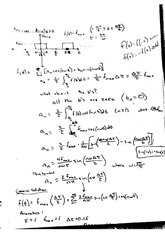 Fourier Analysis Notes