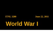 0622 World War I