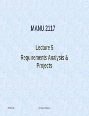 Topic 5_ Requirements Analysis_March2010