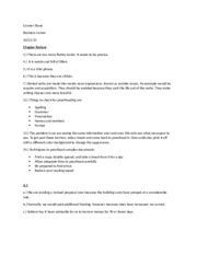Business Comm Chapter 6 assignment