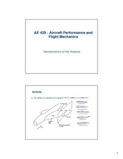 lecture 3 on Aircraft Performance and Flight Mechanics