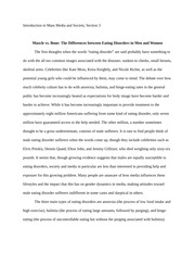 Media and Society - Research Essay- example
